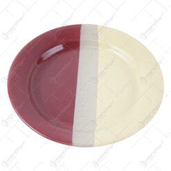 Farfurie intinsa din ceramica 23 CM