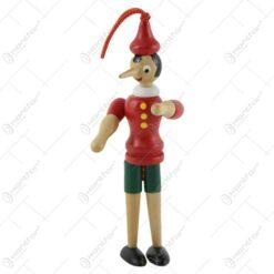 Jucarie din lemn Pinocchio 16 CM