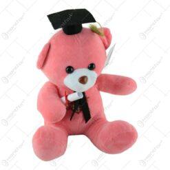Ursulet din plus pentru absolvire 26 CM