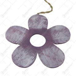 Decoratiune pentru usa din lemn Floare 21 CM
