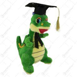 Crocodil realizat din plus pentru absolvire 23 CM