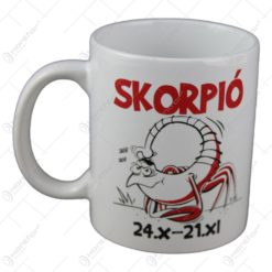 Cana Funny Mug cu zodie - Skorpio
