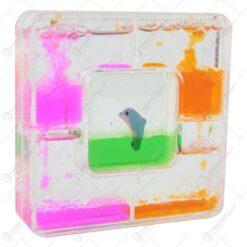 Clepsidra cu lichid colorat 10 CM