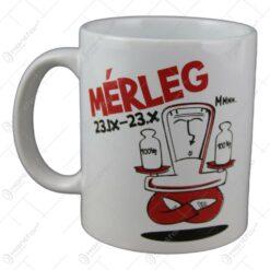 Cana Funny Mug cu zodie - Merleg