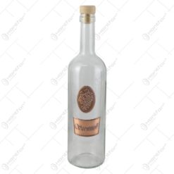 "Sticla cu eticheta metalica ""Szeretettel"" 0.7 L"