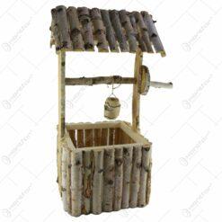 Fantana decorativa din lemn de mesteacan 74 CM