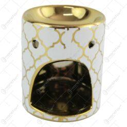 Candela aromaterapie din ceramica 8 CM