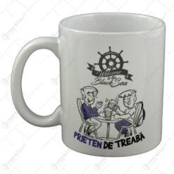 """Cana realizata din ceramica - """"Prieten de treaba"""" - Welcome to the Black Sea"""