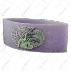 Lumanare tip lampion - Design Lavender Kiss 26x10 CM