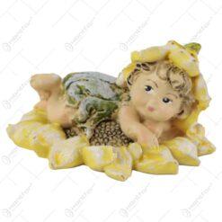 Figurina Zana floarea-soarelui din rasina 7 CM