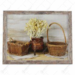 peisaj/floral/vintage 44x34CM