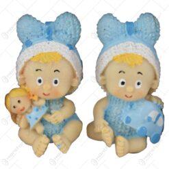 Set 2 figurine rasina cu adeziv