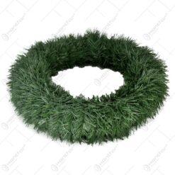 Coroana din paie pentru realizarea decoratiunilor de Craciun - Verde