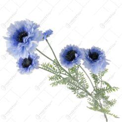 Floare artificiala albastrea 100 CM