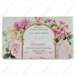 Sapun Rosa & Geranio 250 gr - Trandafir & Geranium