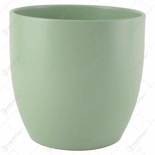 Ghiveci din ceramica Basel Fashion Verde 18x19 CM