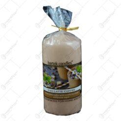 Lumanare parfumata cilindrica - Iced Latte Coffee