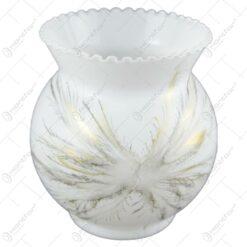 Vaza din sticla decorata cu motive nonfigurative - Design Fantasy (Model 1)