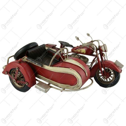 Macheta metalica motocicleta retro 26 CM