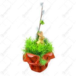 Ornament decorativ pentru sarbatoarea de Paste - Design Floral