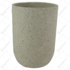 Ghiveci/Vaza din piatra 14x20 CM