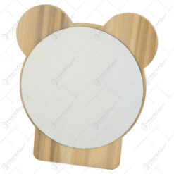 Oglinda decorativa din lemn