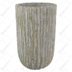 Ghiveci/Vaza din piatra Cocus 12x20 CM