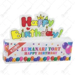 "Lumanare tort ""Happy Birthday"""