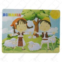 Puzzle 40 de piese - Design Romania