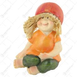 Pereche de figurine Copii din rasina 6 CM