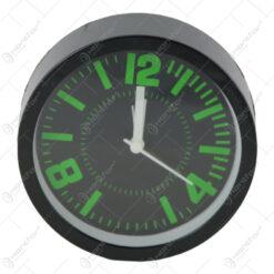Ceas desteptator din plastic 12 CM - Black