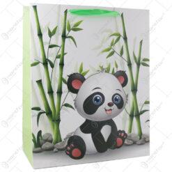 Punga cadou din hartie 26x32 CM - Panda