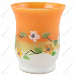 Vaza din sticla 9 CM - Design floral