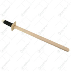 Sabie din lemn cu maner colorat 55 CM