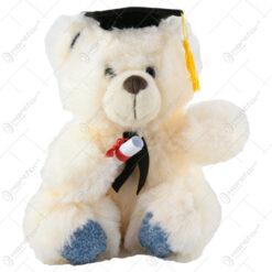 Ursulet din plus pentru absolvire cu diploma 30 CM