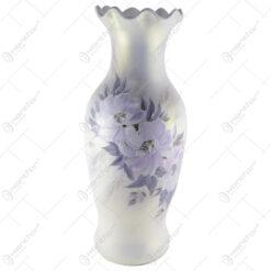 Vaza de podea din ceramica cu motive florale 67 CM