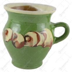 Cana ceramica de Corund 11 CM