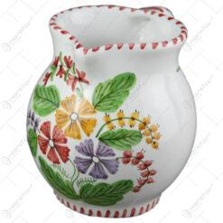 Carafa din ceramica pictata manual 1 L - Flori de camp