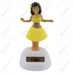Figurina solara fata hawaiana 10 CM