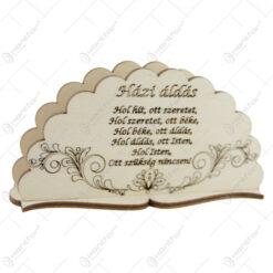 "Suport servetele din lemn ""Hazi Aldas"" 15 CM"