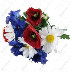 Buchet artificial cu Flori de camp 32 CM