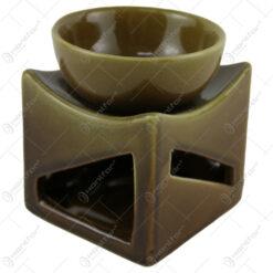 Candela aromaterapie din ceramica