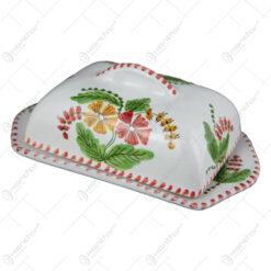 Untiera din ceramica pictata manual - Flori de camp
