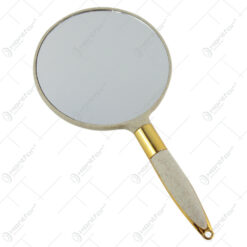 Oglinda cu maner din plastic 12x24  CM