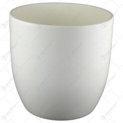 Ghiveci din ceramica Basel Fashion Crem 35x33 CM