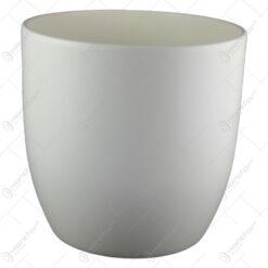 Ghiveci din ceramica Basel Fashion Crem 38x39 CM
