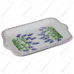 Platou din ceramica pictata manual 17 CM - Lavanda