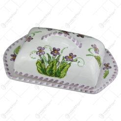 Untiera din ceramica pictata manual - Violete