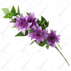 Floare artificiala Clematis 82 CM