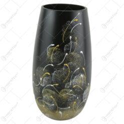 Vaza din sticla 23 CM - Vulcan Negru